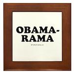 Obama-rama Framed Tile