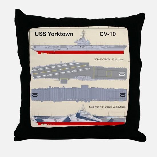 Essex-Yorktown-Back_3 Throw Pillow