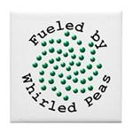 Fueled by Whirled Peas Tile Coaster