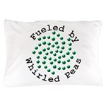 Fueled by Whirled Peas Pillow Case