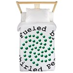 Fueled by Whirled Peas Twin Duvet