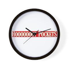 Hooooooot Pockets Wall Clock