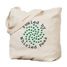 Fueled by Whirled Peas Tote Bag