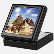 Sphinx and Egyptian Pyramids Keepsake Box
