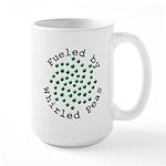 Fueled by Whirled Peas Large Mug