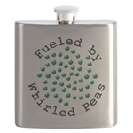 Fueled by Whirled Peas Flask