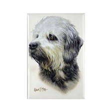 Dandie Dinmont Rectangle Magnet