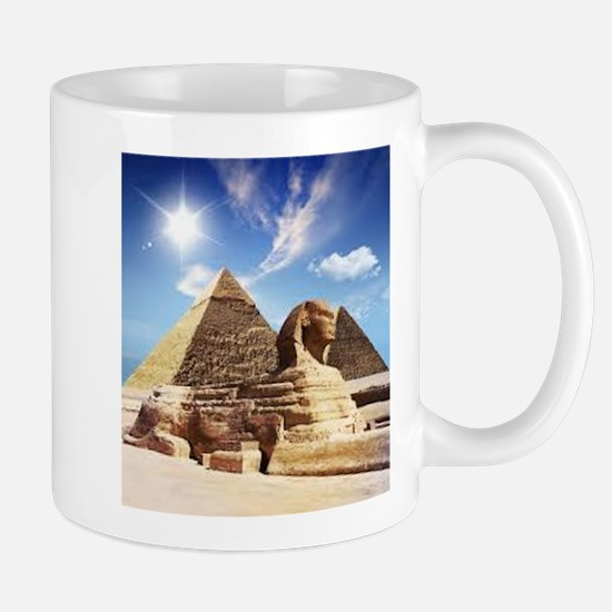 Sphinx and Egyptian Pyramids Mugs