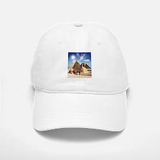Sphinx and Egyptian Pyramids Baseball Baseball Baseball Cap
