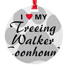 treeing-walker-coonhound Ornament