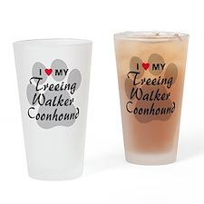 treeing-walker-coonhound Drinking Glass