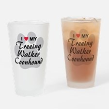 treeing-walker-coonhound Drinking Glass