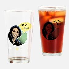 hi-comics-darkbg Drinking Glass