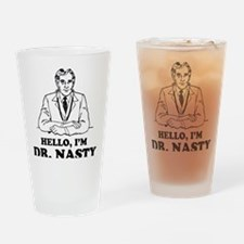 DRNASTYblack Drinking Glass