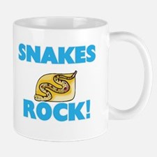 Snakes rock! Mugs