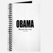 OBAMA: Barack the vote Journal