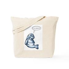 I'm a Manatee (JM) Tote Bag