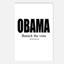 OBAMA: Barack the vote Postcards (Package of 8)