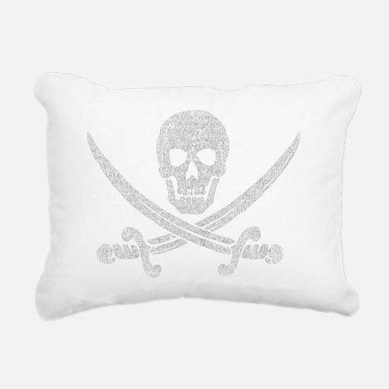 jolly_roger_2 Rectangular Canvas Pillow