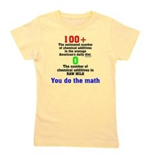 You Do The Math Girl's Tee