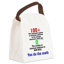You Do The Math Canvas Lunch Bag