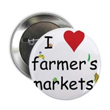 "farmers market 2.25"" Button"