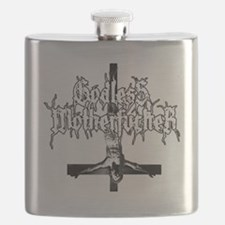 GODLESS-MF2c-white Flask