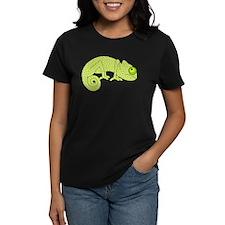 Cute Green Polka Dot Chameleon T-Shirt