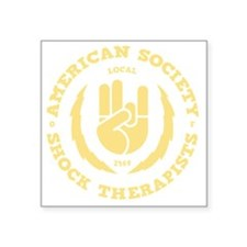 "shock-therapists2-DKT Square Sticker 3"" x 3"""
