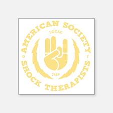 "shock-therapists2-DKT Square Sticker 3"" x 3"""