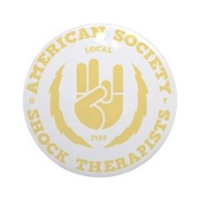 shock-therapists2-DKT Round Ornament