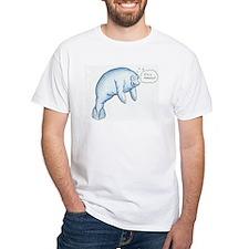 I'm a Manatee (PN) White T-Shirt