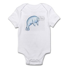 I'm a Manatee (PN) Infant Bodysuit