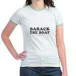Barack the boat Jr. Ringer T-Shirt
