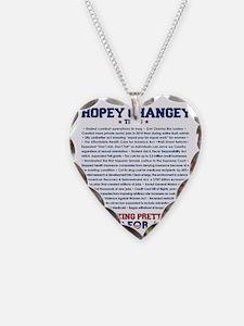 hopeychangeyshirt Necklace