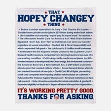 hopeychangeyshirt Throw Blanket