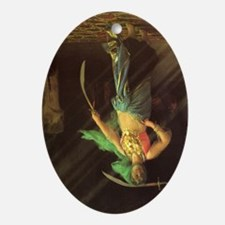 AlmehSword_Gerome_4x6_300_r Oval Ornament