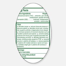 poster Sticker (Oval)