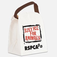 RSPCA Justice for Animals Canvas Lunch Bag