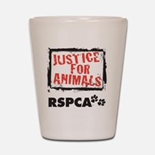 RSPCA Justice for Animals Shot Glass