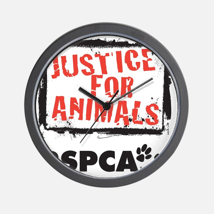 RSPCA Justice for Animals Wall Clock