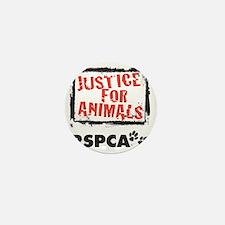 RSPCA Justice for Animals Mini Button