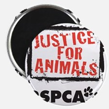 RSPCA Justice for Animals Magnet