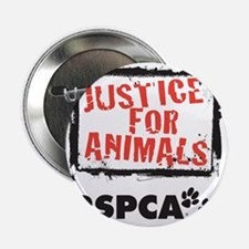 """RSPCA Justice for Animals 2.25"""" Button"""