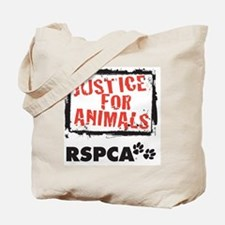 RSPCA Justice for Animals Tote Bag