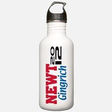 2012 Gingrich 5 Water Bottle