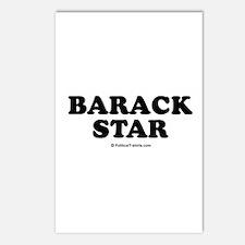 Barack Star Postcards (Package of 8)