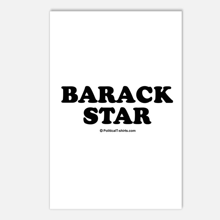 Barack Star Postcards (Package of 8)
