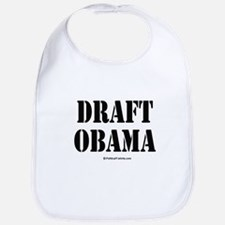 Draft Obama Bib