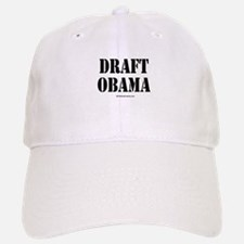 Draft Obama Baseball Baseball Cap